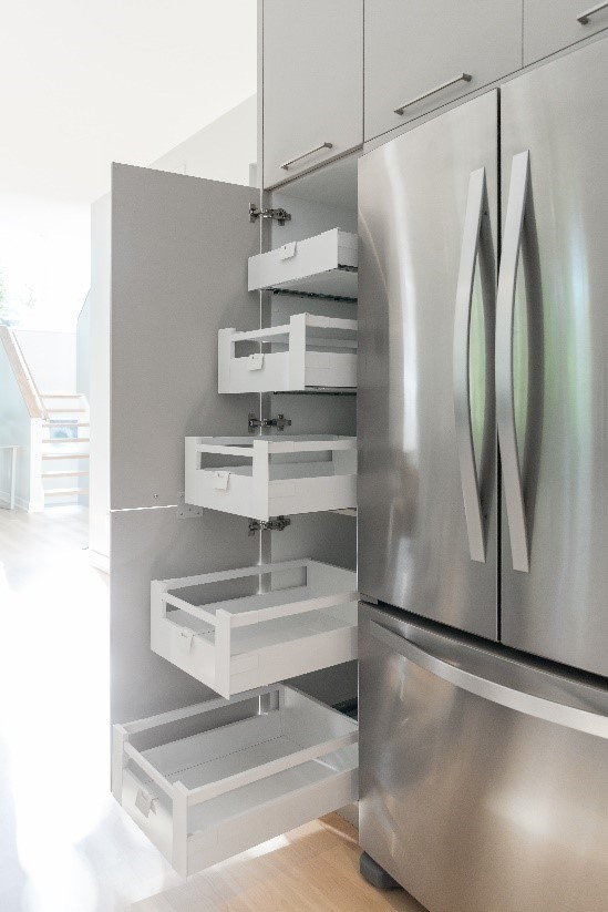 roll out cabinets