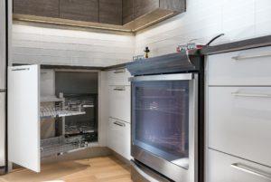 corner cabinet storage accessory